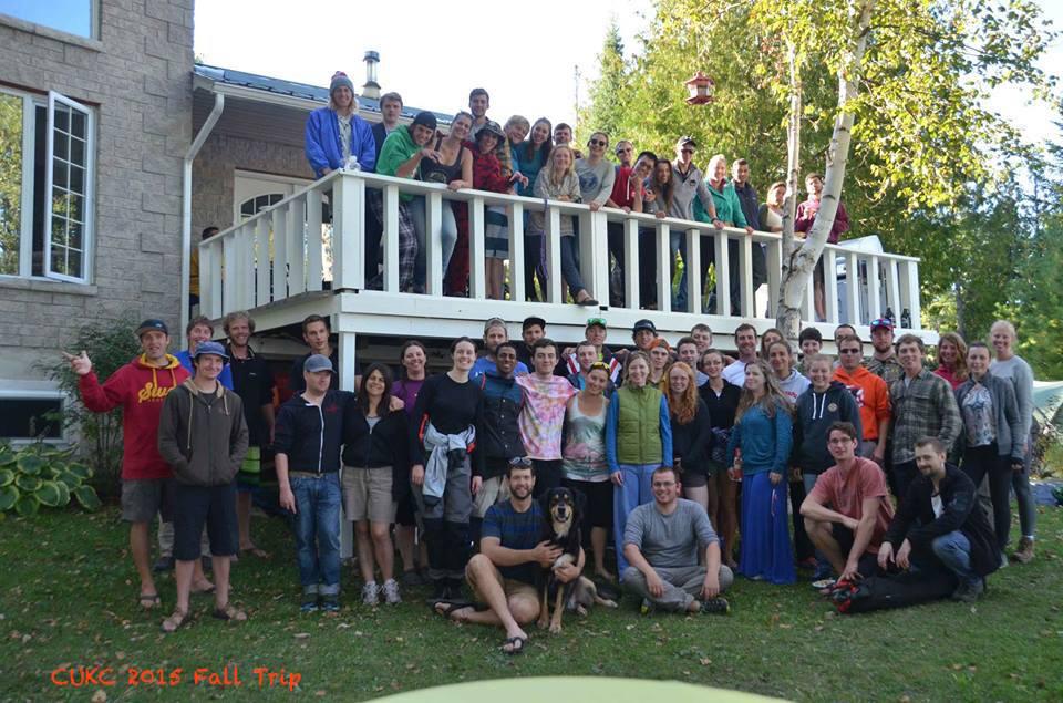 Fall Trip 2015 Carleton University Kayak Club